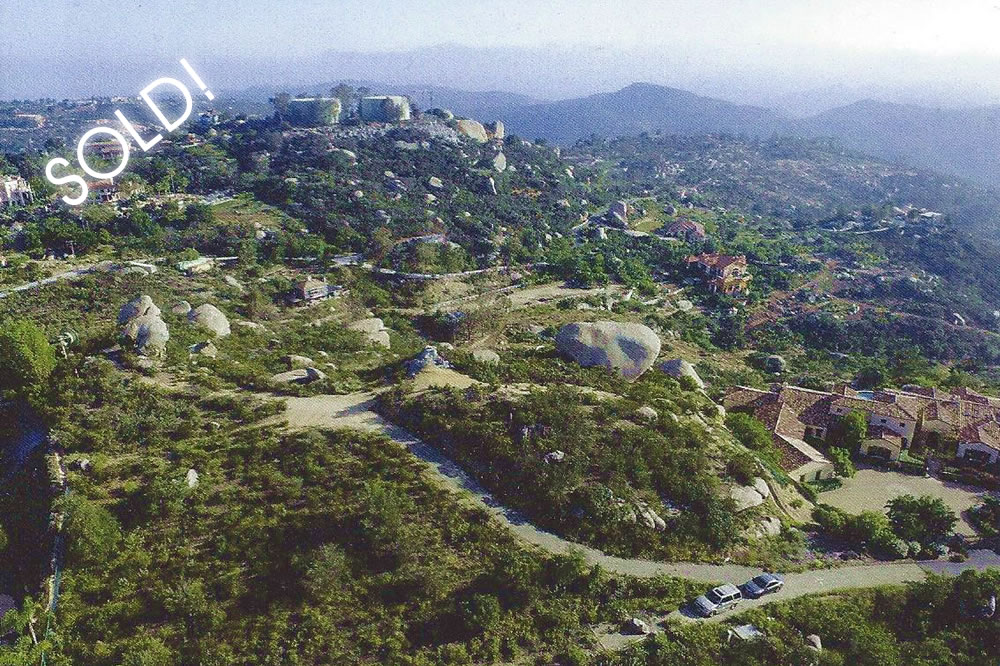 Click for 2 93 acre lot Rimrock Estates Anderson Court Escondido CA